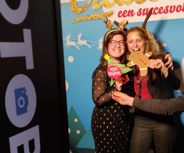 PhotoBooth huren - kerstfeest