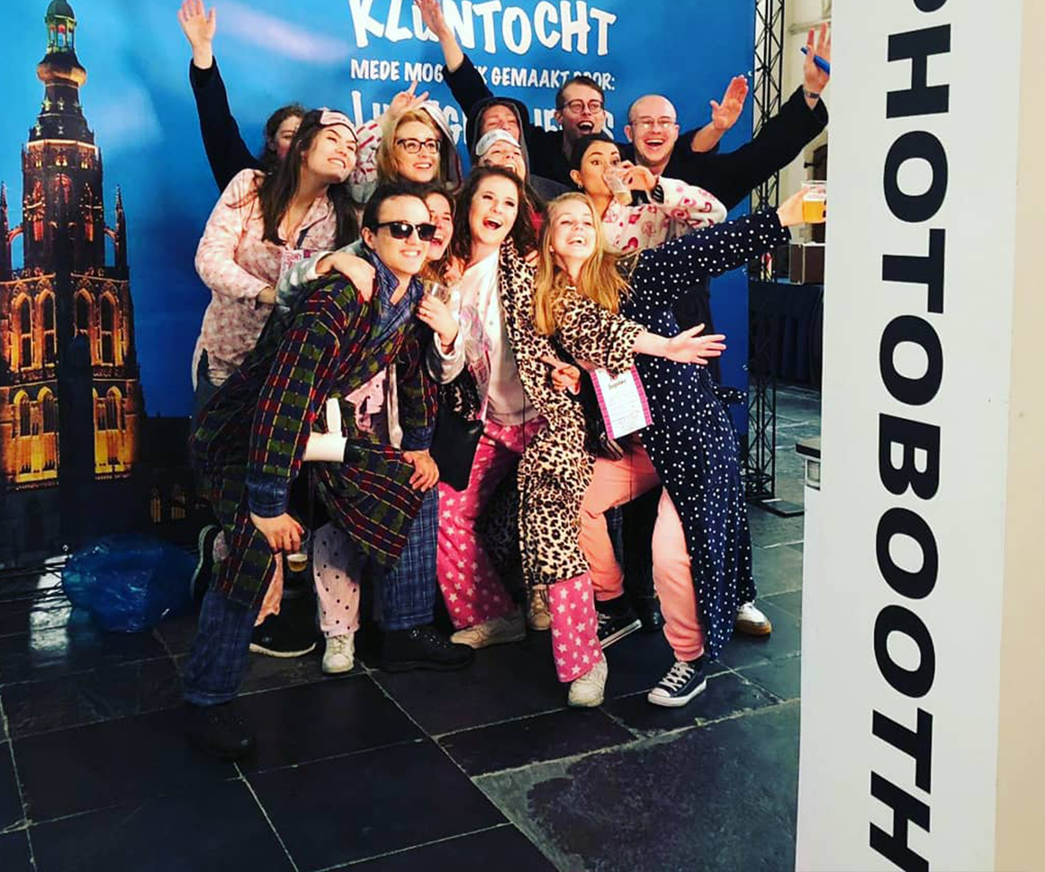 PhotoBooth huren - studentenfeest
