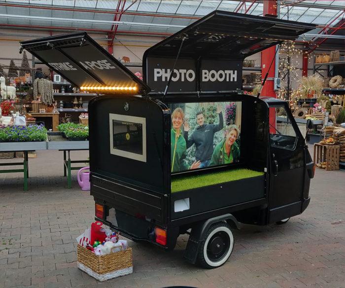 TukTuk PhotoBooth huren - kerstmarkt